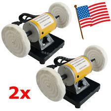 2pcs Mini Dental Polisher Polishing Machine Lathe sander grinder Buffing 3000rpm