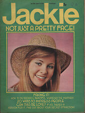 Jackie Magazine 7 June 1975 No.596    The Sweet      The Bay City Rollers