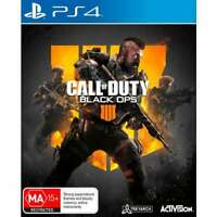 Call of Duty Black Ops 4 Playstation 4 PS4 - Brand New - Free Shipping!
