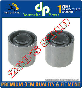 Control Arm Bushing Bushings LEFT + RIGHT for Mini Cooper & S 31126757551 SET 2