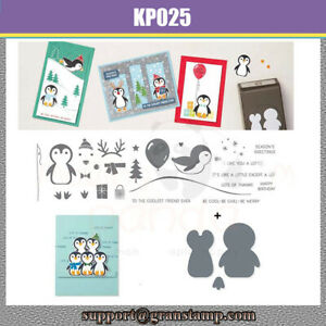 PENGUIN PLACE Metal Cutting Dies and Stamps For Scrapbooking