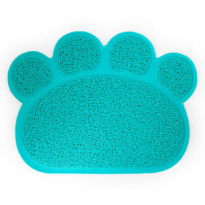 Dog Dish Bowl Food Water Feed Place Mats Pets Dog Puppy Cat Feeding Mat Pad Bed
