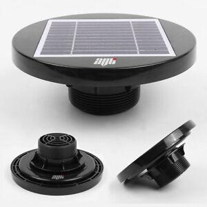 Solar Powered Roof Fan Ventilator Loft Vent For Boat RV Greenhouse Shed Caravan