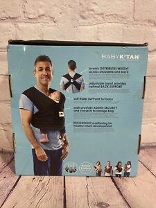 Baby K'tan Original Baby Carrier Black & White Print XS - Hands Free