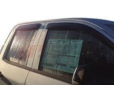 JSP Window Vent Deflector Rain Visor 2014-2018 Chevrolet Silverado Double Cab