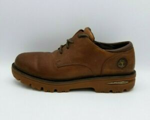 Timberland Mens Brown Leather Low Ankle Trek Hiking Work Boots 49044 Sz 10.5M