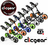 Clicgear 3.5+ Golf Push Cart - Pick Your Color - Brand New