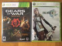 Xbox 360 Gears Triple Pack Final Fantasy XIII Lot