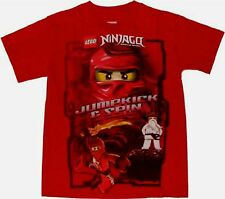 Lego NINJAGO Jump kick & Spin L 14-16 XL T-Shirt New Childs Masters of Spinjitzu