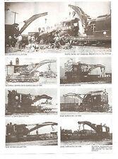 Tichy Train Group  Steam Wrecking Crane 120 Ton  HO Gauge Kit # 4010