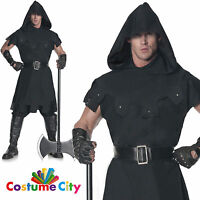 Adults Mens Medieval Punisher Executioner Halloween Fancy Dress Party Costume