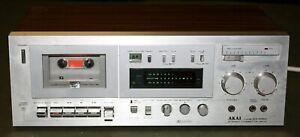 Akai GX-M50 Vintage Stereo Cassette Tape Deck Player!!