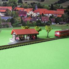 Haltepunkt / Kleiner Bahnhof Moosbach - Modellbausatz - Spur-Z