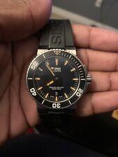 Oris Aquis Date Swiss Watch  01 733 7653 4259-07 Black & Orange dial