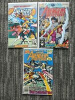 Avengers West Coast Annual #5-7 **THREE ISSUE LOT** (Marvel 1990) Darkhawk App.