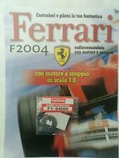 Ferrari Formula 1 F2004 De Agostini Kyosho a Scoppio Ricambio N°80 04080 Nuovo