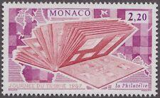 1987 MONACO N°1577** JOURNEE DU TIMBRE, album de timbres,  MNH
