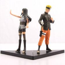 2 pcs Naruto Uzumaki & Hinata Hyuga PVC Action Figures Set 6