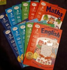 Educational Books Home School Maths English, Age 3-11Yrs, National Curriculum