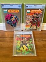 LEGACY #0 1 2 COMPLETE Set of 3 N MINT 9.4 RARE Majestic Comics 1993 NM CGC<CBCS