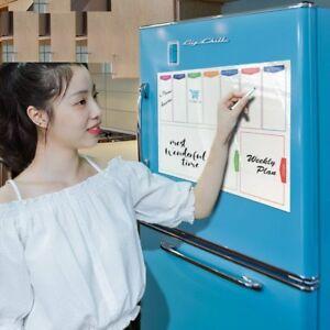 Whiteboard Weekly Planner Fridge Magnet 29.7*42cm Flexible Message Board Drawing