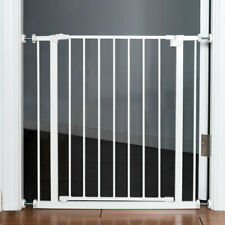 Baby Safety Gate Door Walk through Toddler Children Pets Easy Locking System