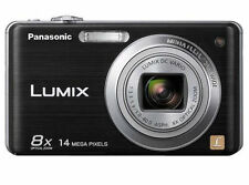 Panasonic LUMIX DMC-FH20 14.1MP Digital Camera Black With Box, Accessories F30