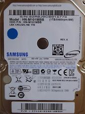1tb Samsung hn-m101mbb | p/n: c7112-g14a-ab3uk | 2011.09