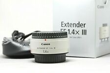 Canon EF 1.4x III Extender w/Case Mint Condition #359000066