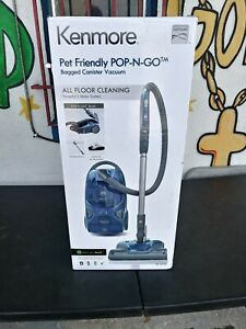 KENMORE - Pet Friendly Pop-N-Go Bagged Canister Vacuum Cleaner - BC4026