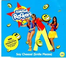 FAST FOOD ROCKERS Say cheese (smile please)  4  TRACK CD  NEW - NOT SEALED
