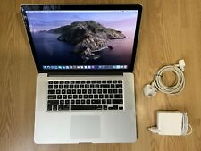 MacBook Pro 15, Fin 2013 - i7 2,6 GHz, 16Go RAM, 256Go SSD, GT 750M - QWERTY US