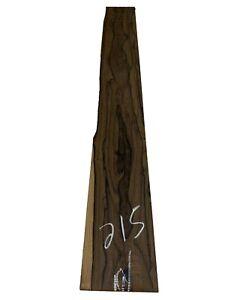 "Ziricote Bass Fingerboard Blanks/Lumber Board/Cutting Board 48""x6""x1/2"", #215"