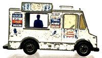 Vintage 1983 Hot Wheels Good Humor Ice Cream Truck 1/64 Mattel Loose