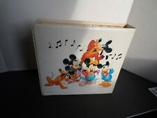Walt Disney Sing along casset Tapes and books in original case 12