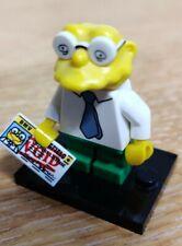 Simpsons Series 2 lego figurine GRATUIT UK ENVOI HANS MOLEMAN Mole Man