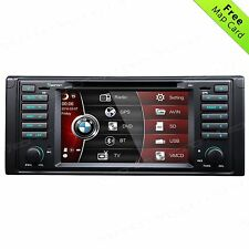 "For BMW 5 Series E39 M5 530i 540i 7"" In Car CD/DVD Player GPS Radio Stereo+Map B"