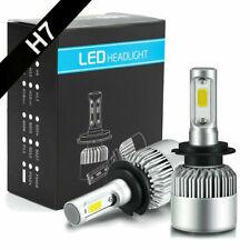 2X H4 H7 CREE LED Headlight 200W 20000LM Hi/Low Kit Bulbs Beam HID COB 6000K