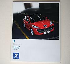 Peugeot . 207 . Peugeot 207 . August 2007 . Sales Brochure