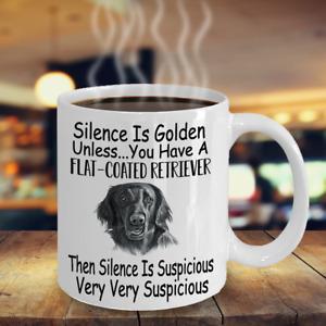 Flat Coated Retriever Dog,Flatcoat,Flattie,Flatte,flatt,Cups,Coffee Mugs