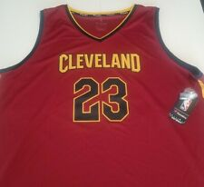 Fanatics Lebron James Cleveland Cavaliers Fast Break Branded Jersey 2XL NWT