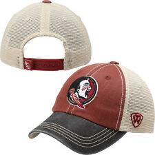 Florida State Seminoles FSU New Logo Mascot Mesh Hat Cap by Top of the World