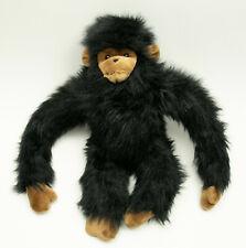 "Fuzzy Freddy Monkey Black Plush 23"" 1995 Stuffed Animal Fiesta Concession #9578"
