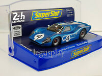 Slot Car Scalextric Superslot H4031 Ford GT MK IV 1967 24Hrs Le Mans #4