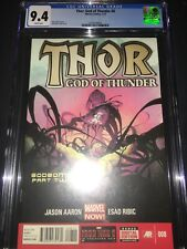 Thor God of Thunder #8 CGC 9.4 - 1st App Goddesses of Thunder - 2013