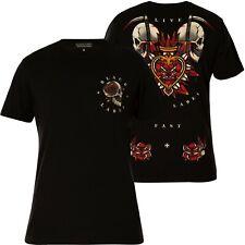 AFFLICTION T-Shirt Death Flame Schwarz T-Shirts