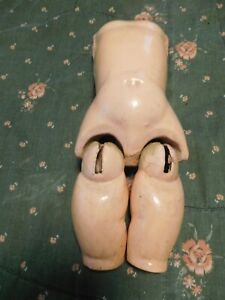 Antique German Composition Doll Parts Torso Body & Upper Legs