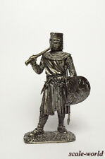 Tin soldier, figure. European Knight, the first half of the 13th century 54 mm