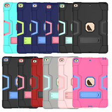 "For iPad 10.2"" 9.7"" Pro 11"" 10.5"" Mini 12345 Air 321 Hybrid Silicone Rugged Case"