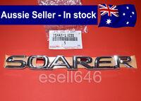 GENUINE TOYOTA SOARER JDM TRUNK BOOT BADGE EMBLEM SC300 SC400 Z30 7544124030 NEW